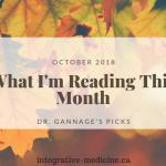 Integrative Medicine Links October Dr. John Gannage