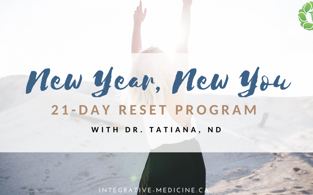 Reset Your Health: 21-Day Reset Program