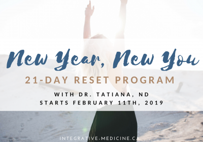New Year, New You: 21-Day Reset Program