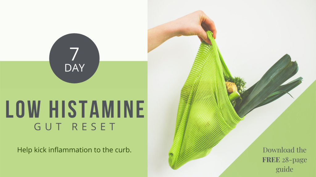 low histamine gut reset functional medicine