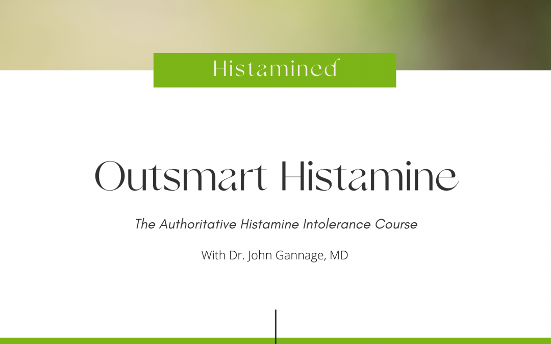 histamine intolerance course