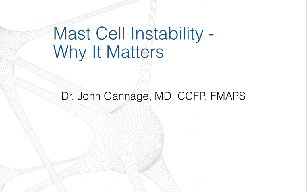 Mast Cell Instability: Why It Matters: Educational Program Launched at 50th Annual OMT Conference